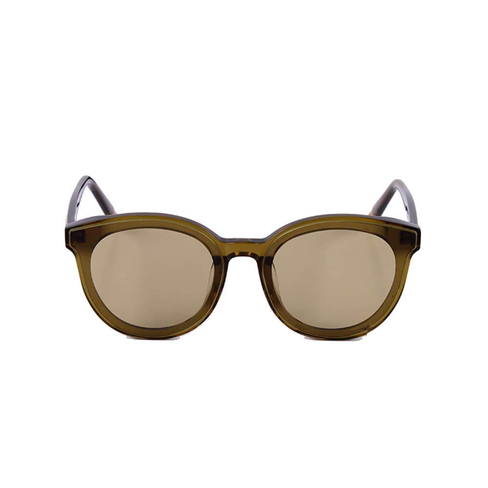 Womens Classic Small Round Polarized UV Predection Sunglasses Sunglasses (color   Brown)