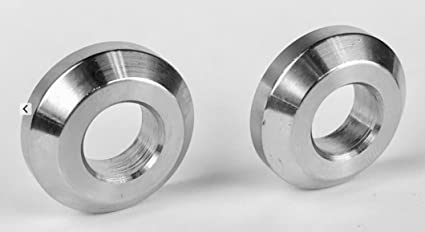 """2 pc Extsw 3//8/"""" ID x 1 3//8/"""" OD x 1//4/"""" Thick 316 Stainless Washer"""