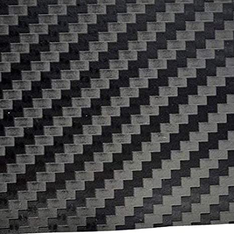 TipTopCarbon 6,57/€//m/² 3D Carbon Folie schwarz BLASENFREI 1m x 1,52m mit Luftkan/äle Autofolie selbstklebend