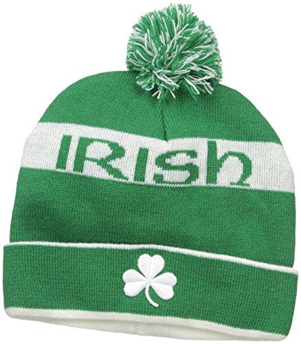 Ireland Pom Pom Knit Hat - Ireland White Socks Bay Donegal