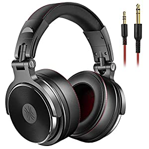 Best Epic Trends 51xK7K%2BR6OL._SS300_ OneOdio Adapter-Free Over Ear Headphones for Studio Monitoring and Mixing, Sound Isolation, 90° Rotatable Housing with…