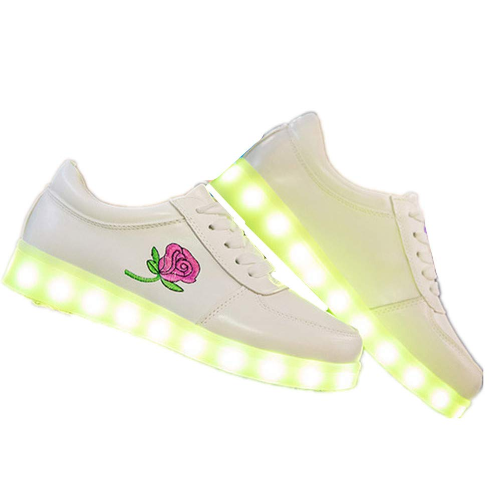 satisfied Couples Casual Radiant Shoes USB Charging Dance Shoes