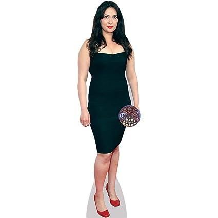 Amazon Yasmine Akram Black Dress Life Size Cutout Home Kitchen