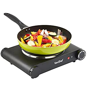 VonShef Premium Electrical Single Hot Plate / Countertop Hob 1500W – Not as hot as I would like