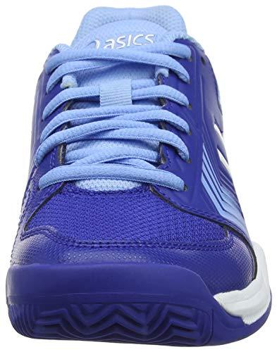 Asics 400 Gel Para white Tenis dedicate 5 De monaco Mujer Blue Azul Clay Zapatillas qRAq6pUw