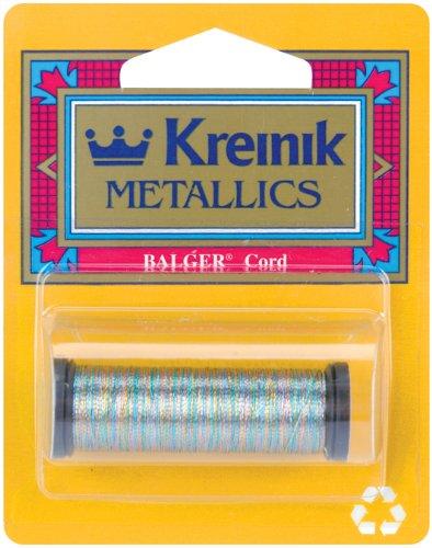 Metallic Kreinik Cord - Kreinik Metallic Cord 1 Ply, 50m, Silver