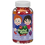 Graceland Organics 90 Kosher, Halal Gummy Bears Vitamins For Kids 2+ Years Old, Nutritional Supplement, Healthy Natural Colors & Flavors, Children Gummies Complete Multivitamin