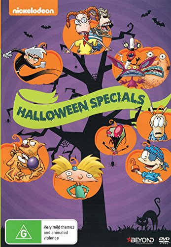 Classic Nickelodeon Halloween Specials | NON-USA Format | PAL | Region 4 Import - -