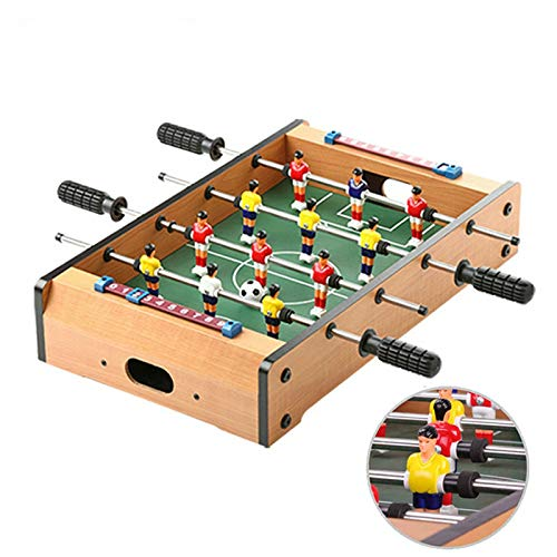 (ZJHZN ABS Material Mini Soccer Board Home Table Foosball Set Football Toy Gift Game 51319.6cm )