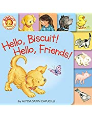 Hello, Biscuit! Hello, Friends! Tabbed Board Book