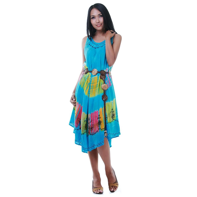 Kleid hellblau turkis
