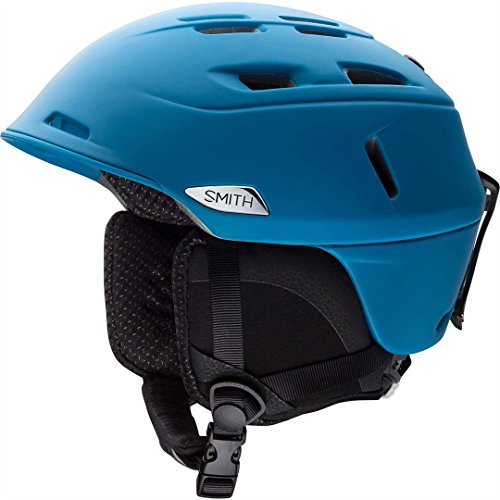 Smith Optics Unisex Adult Camber Snow Sports Helmet - Matte Pacific Medium (55-59CM) by Smith Optics