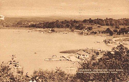 Danbury Connecticut Lake Candlewood Wildmans Landing Antique Postcard ()