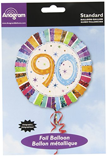 Anagram International Radiant Birthday 90th Balloon, 18