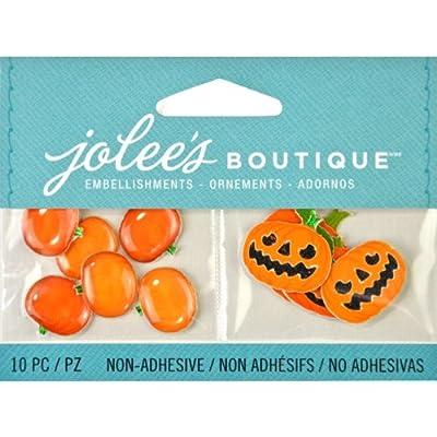 Jolee's Boutique Scrapbooking Embellishments, Jack O' Lanterns and Pumpkins