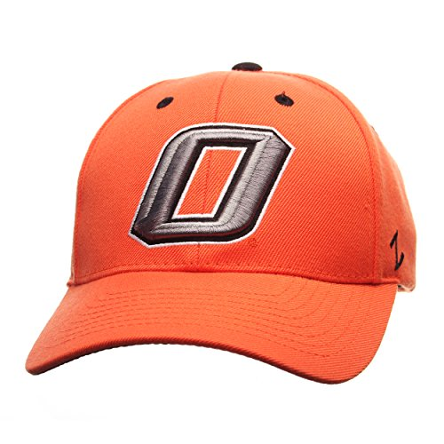 NCAA Oklahoma State Cowboys Men's Competitor Hat, Adjustable, Orange by Zephyr