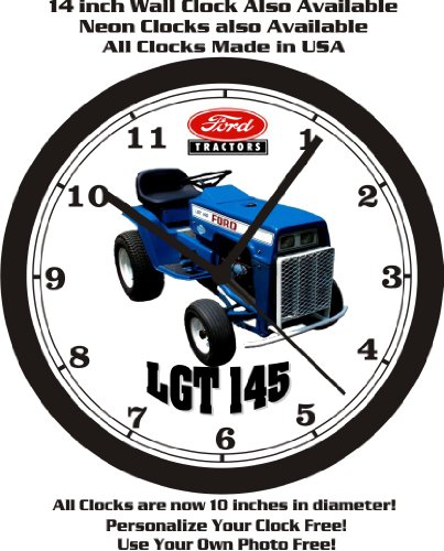 FORD LGT 145 LAWN TRACTOR WALL CLOCK-FREE USA - Tractors Ford Lawn