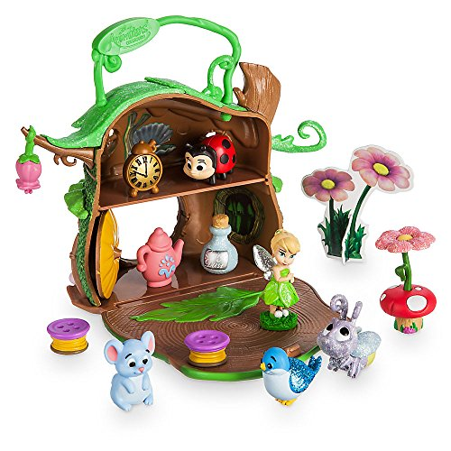 Tinkerbell Sets (Disney Animators' Collection Littles Tinker Bell Micro Doll Play Set)