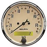 Auto Meter 1887-M Antique Beige Electric Programmable Speedometer