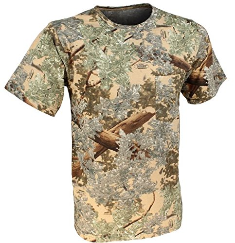 - King's Camo Cotton Short Sleeve Hunting Tee, Desert Shadow, X-Large