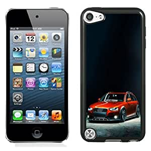 NEW Unique Custom Designed iPod Touch 5 Phone Case With Slammed Audi A4 Allroad_Black Phone Case