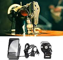 Wosume Máquina de Coser Kit de Motor y Pedal Juego de Piezas de ...