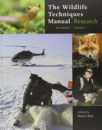 The Wildlife Techniques Manual: Volume 1: Research. Volume 2: Management 2-vol. set (2012-02-07)