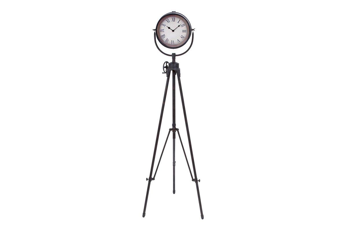 Deco 79 Metal Floor Clock, 57 by 17-Inch
