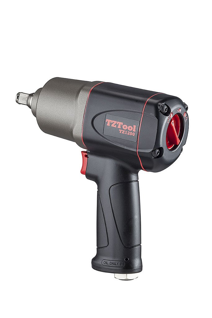TZTOOL 1200 Diesel 1/2'' Composite air impact wrench, Ultimate torque