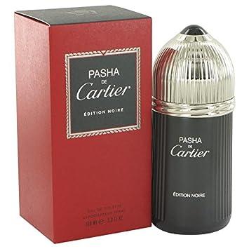 Cartier Pasha De Cartier Noire By Cartier Eau De Toilette Spray 3.3 Oz for Men – 100 Authentic, 3.4 Oz
