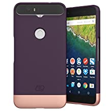 Nexus 6P Case, Encased Ultra Thin (2016 SlimShield Edition) Full Coverage, Hybrid Tough Shell (Royal Purple)