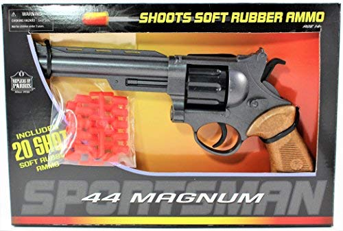 44 Magnum Toy Gun Boxed Set 40 Rubber Ammo Included]()