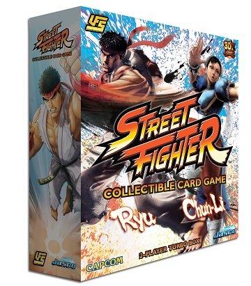 - Jasco Games Street Fighter CCG: Chun Li vs. Ryu 2-player Starter Game Strategy Board Game