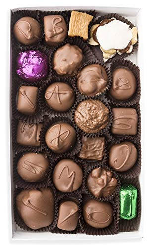 Mrs. Cavanaugh's Famous Traditional Assortment | Chocolate Candy Cremes, Truffles, Caramels, Toffees & Nuts | 9 oz Milk Chocolate ()