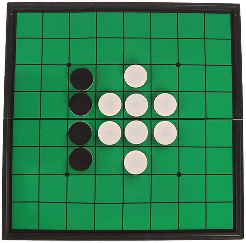 PROKTH Go & Go Bang - Juego de Estrategia, Juegos de ajedrez Go, Juegos de ajedrez de cerámica Juego de Mesa fantástico Juegos de Viaje para Principiantes y Jugadores de Go (500