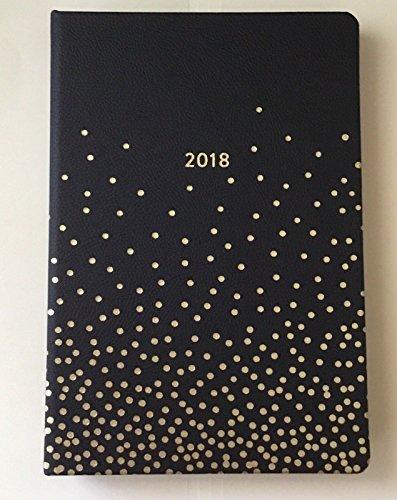 Fringe Studio 2018 Weekly / Monthly Agenda Planner - Black - Confetti Fringe
