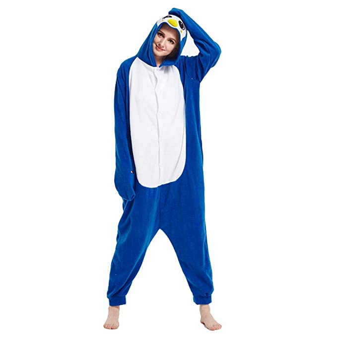 Amazon.com: Mens Women Pajama Costume Jumpsuit Plush ...