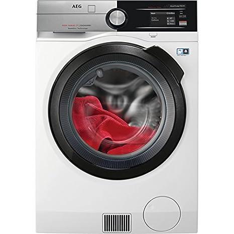 AEG L9WEA163 lavadora Carga frontal Independiente Blanco A - Lavadora-secadora (Carga frontal, Independiente, Blanco, Izquierda, Botones, Giratorio, ...