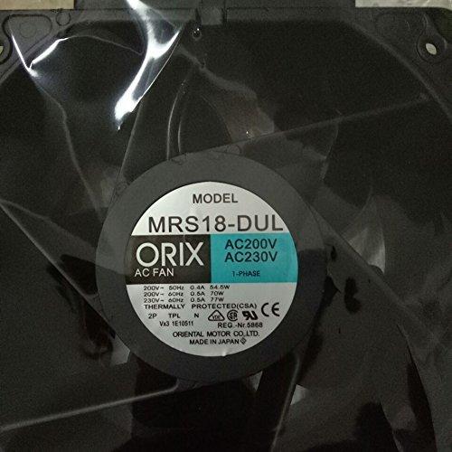 MRS18-DUL Centrifugal Fan 95/70(w 200/230(V) 3months Warranty