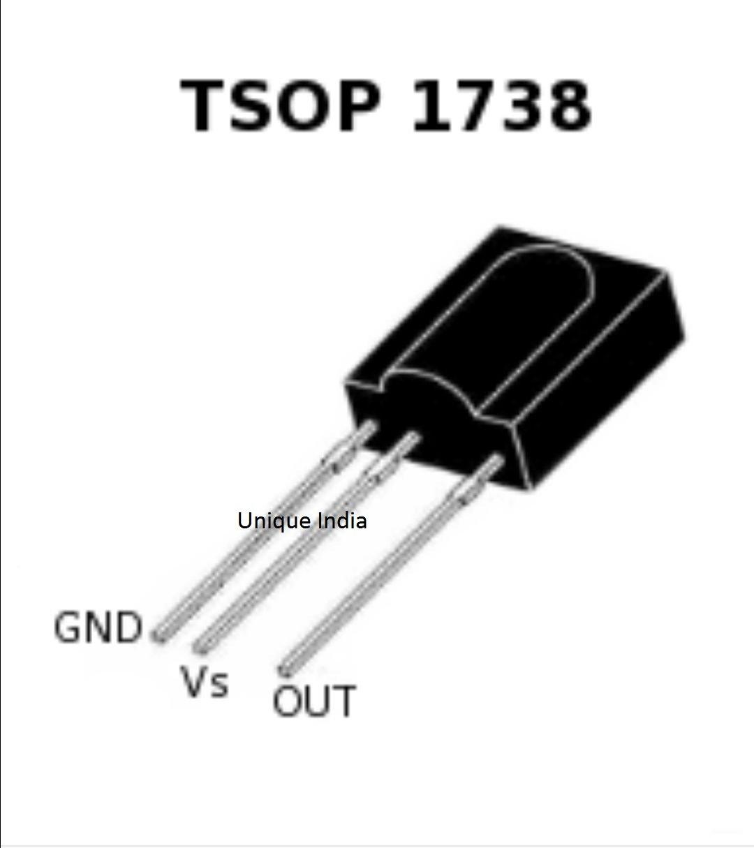 tsop 1738 ir receiver { 10 pcs } amazon in industrial \u0026 scientificTsop 1738 Photo Module Design Notes #14