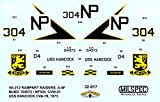 CAMMS32017 1:32 MilSpec Decals - A-4F Skyhawk VA-212 Rampart Raiders USS Hancock 1973 [WATERSLIDE DECAL SHEET]
