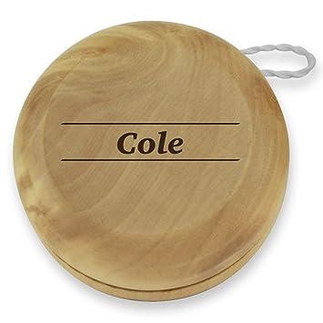 Amazon.com: Yo-yo grabado en madera con varios nombres y ...