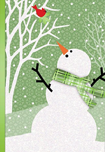 (Hallmark Boxed Holiday Cards: Friendly Snowman and Cardinal)