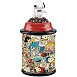 Westland Giftware Snoopy Ceramic Cookie Jar, Multicolor