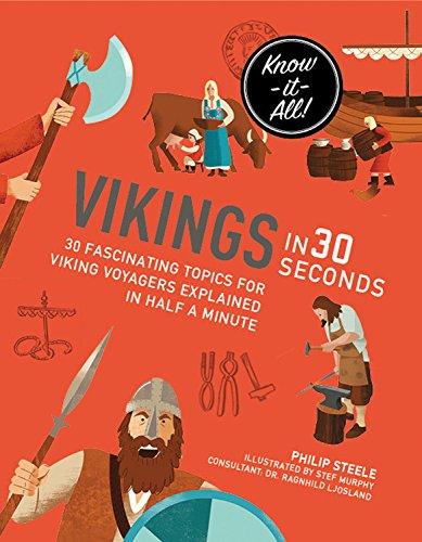 Vikings in 30 Seconds (Kids 30 Second) PDF