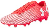 Under Armour Men UA CF Force 3.0 FG Football Boots, Red (Neon Coral 611), 9 UK 44 EU