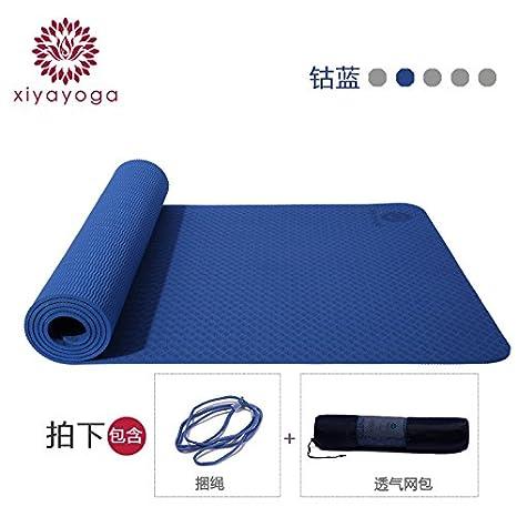 YOOMAT TPE Yoga Mat Ancho Grueso Género Aptitud Alfombra ...
