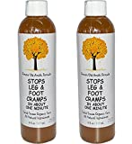 Caleb Treeze Organic Farm 'Stops Leg & Foot Cramps (In About One Minute)' 8 fl. oz., 2 Pack