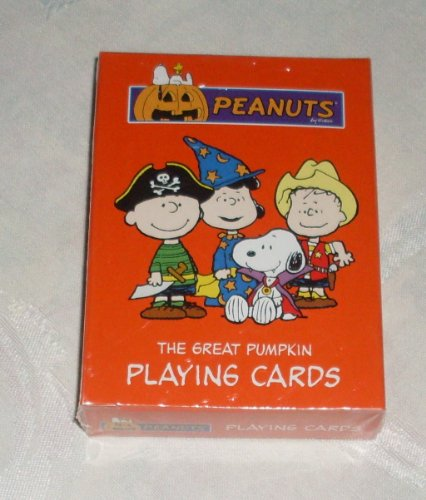 [Rare! Peanuts Snoopy The Great Pumpkin Deck of Playing Cards - Halloween Costumes] (Great Pumpkin Charlie Brown Halloween Costumes)