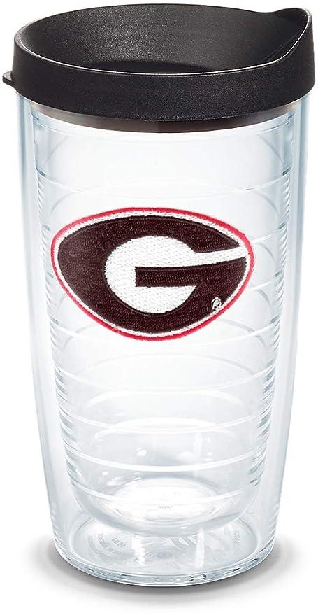 0c26587b591 Amazon.com  Tervis 1056583 Georgia Bulldogs Logo Tumbler with Emblem and Black  Lid 16oz